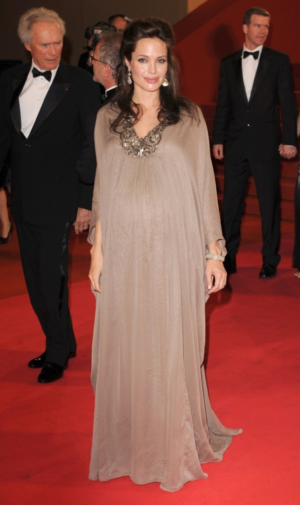 Angelina Jolie à Cannes en 2008 !