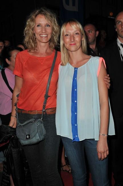 Alexandra Lamy et sa petite soeur Audrey