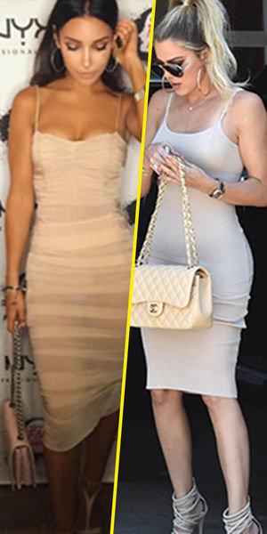 Sananas et Khloe Kardashian