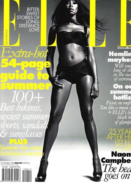 8. Naomi Campbell
