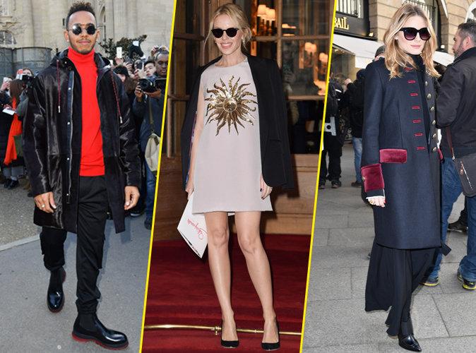 Lewis Hamilton, Kylie Minogue, Olivia Palermo... Ils n'auraient manqué la Fashion Week pour rien au monde !