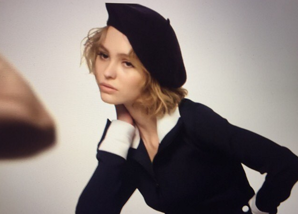 Lily-Rose Depp pour Vanity Fair US