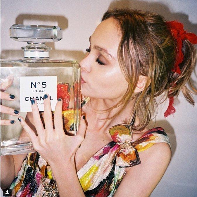 Photos : Lily-Rose Depp : dans les traces de Vanessa Paradis