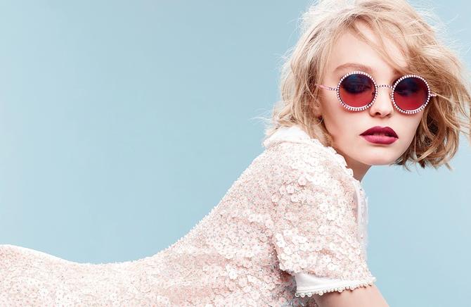 Campagne de Lily-Rose Depp pour Chanel