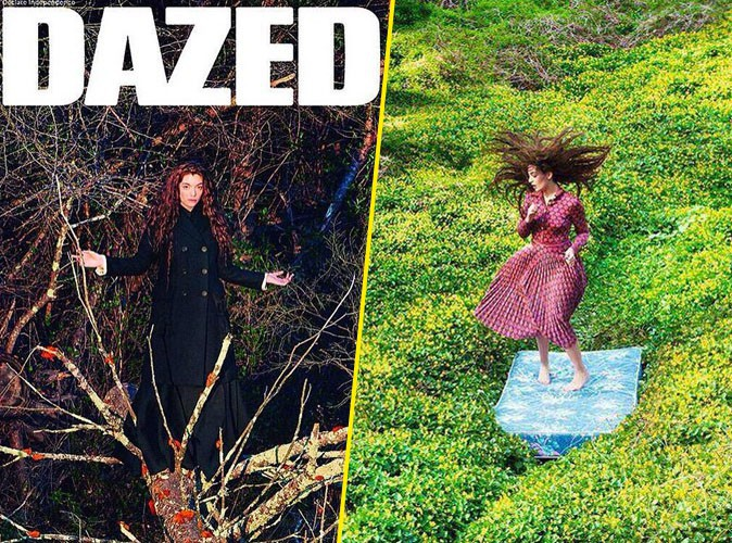 Photos : Lorde se la joue mère nature pour Dazed Magazine !