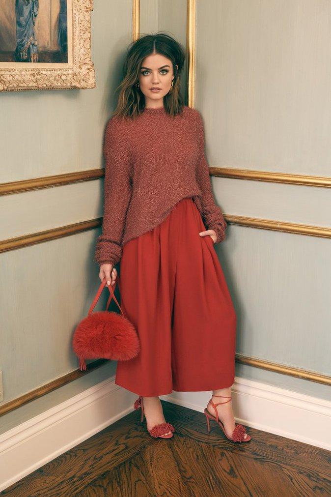 Photos : Lucy Hale devient un gourou de la mode pour Shopbop