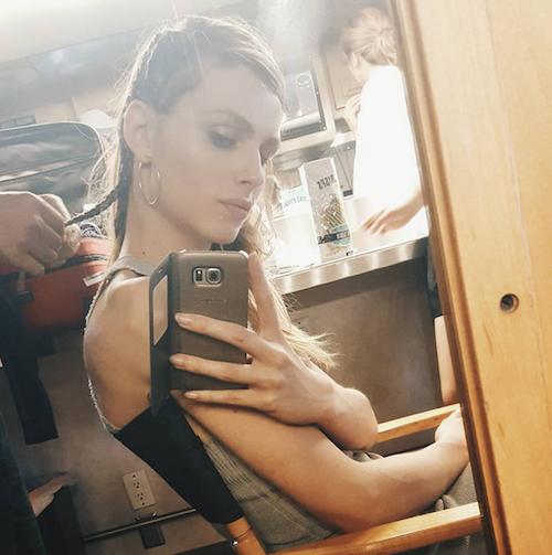 Andreja Pejic, mannequin transgenre et égérie MAC notamment
