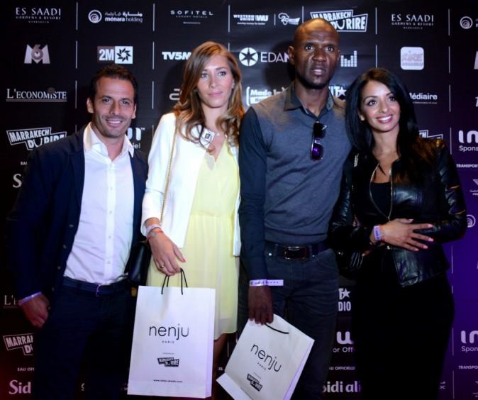 Ludovic GIULY, Eric ABIDAL et leurs épouses