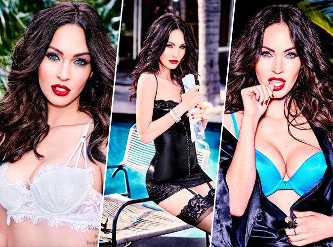 Megan Fox : pour la marque de lingerie Frederick's of Hollywood, elle met le paquet et c'est chaud !