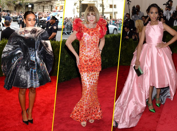 Met Gala 2015 : Solange Knowles, Anna Wintour, Kerry Washington... Retour sur les tenues les plus moches !