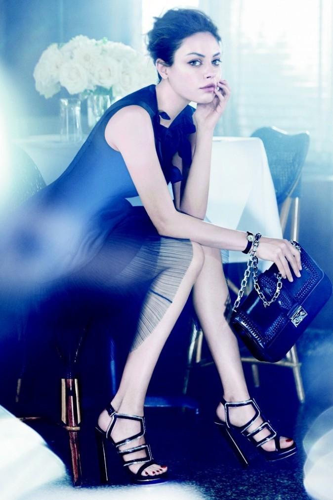 Mila Kunis pour la collection printemps-été 2012 de Dior
