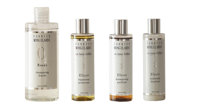 Nouvelle gamme de produits capillaires du coiffeur Fabrice Mongilardi