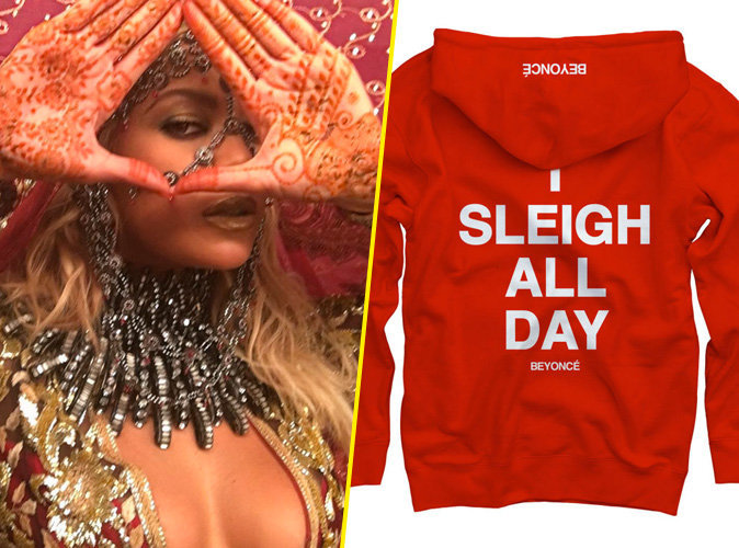 Photos : Mode : Beyoncé lance une mini-collection de vêtements pour Noël !