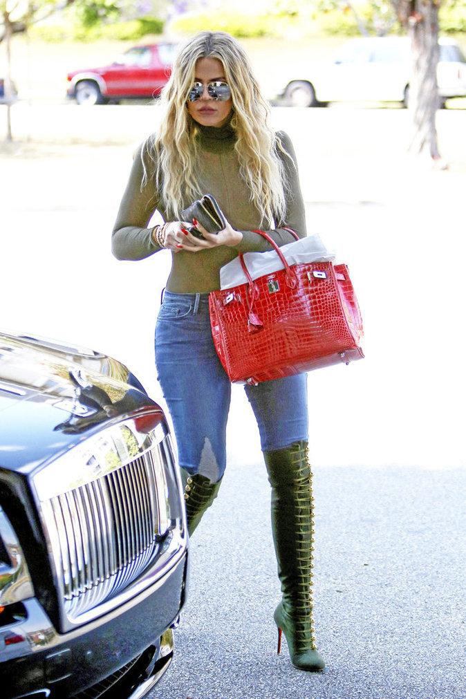Les cuissardes de Khloe Kardashian : DON'T !