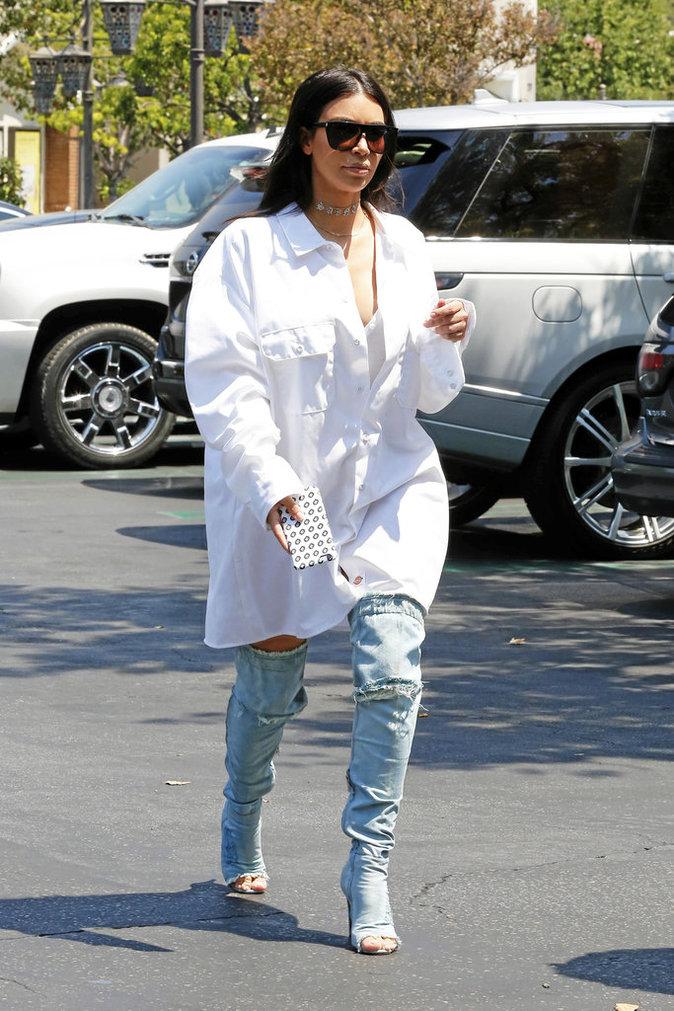 Les cuissardes de Kim Kardashian : DO !