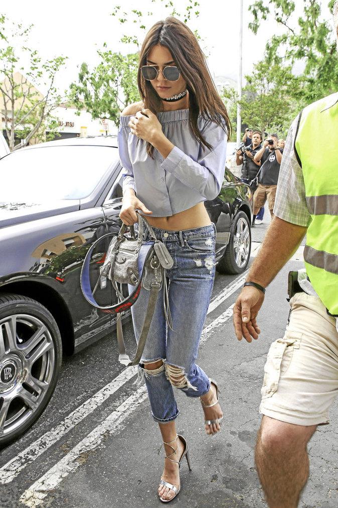 La chemise déstructurée de Kendall Jenner