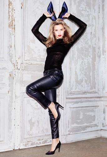 Photos : Mode : Georgia May Jagger, glam-rock pour sa première campagne de pub Minelli !