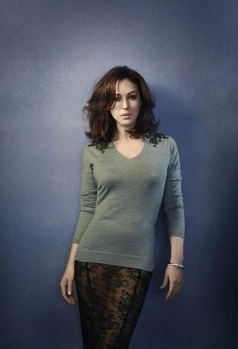 Monica Bellucci ambassadrice de la nouvelle collection Eric Bompard pour l'hiver 2011/2012 !