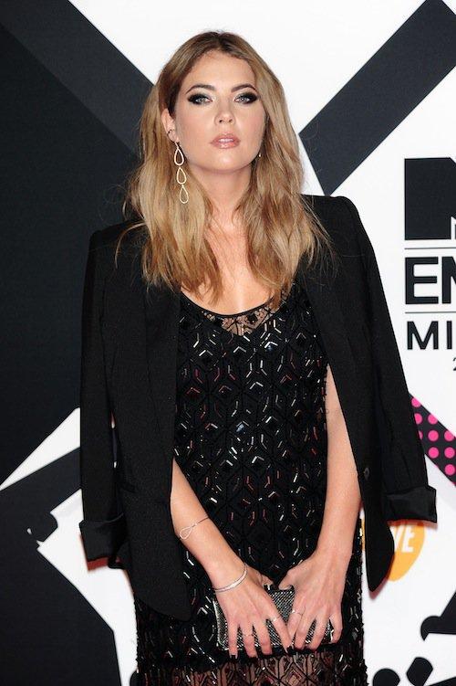 Ashley Benson aux MTV EMA 2015 à Milans, le 25 octobre 2015