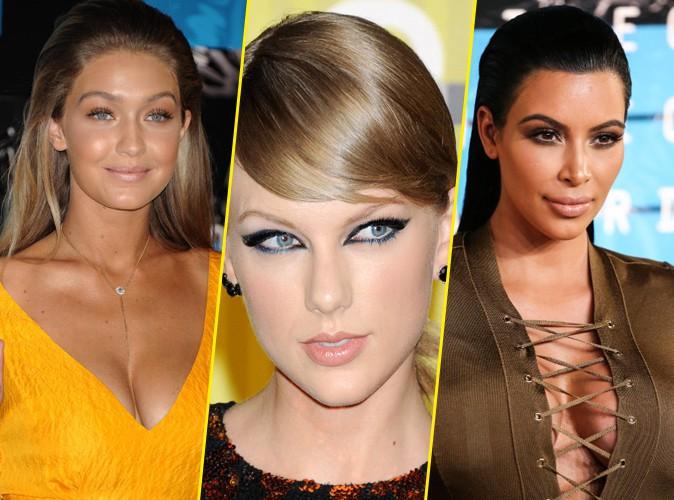 Photos : MTV VMA 2015 : Gigi, Taylor, Kim... Des beauty looks à tomber lors de la cérémonie !