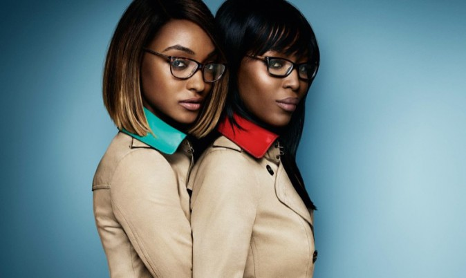 Photos : Naomi Campbell et Jourdan Dunn, complices comme mère et fille pour Burberry Eyewear !