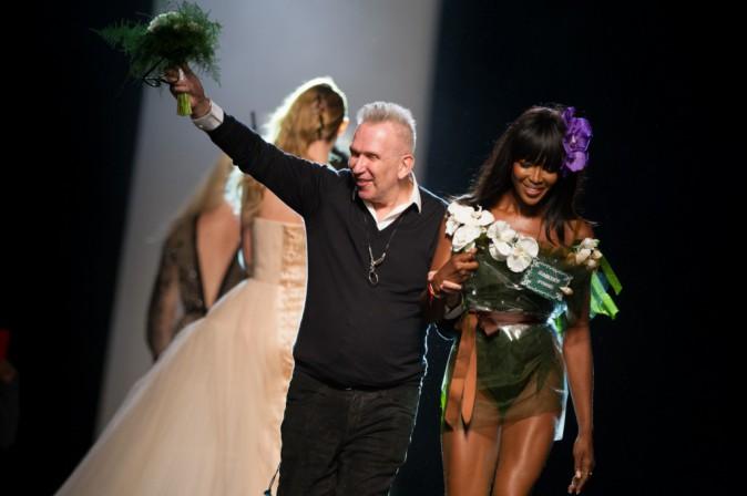 Photos : Naomi Campbell : la star du défilé Jean-Paul Gaultier, c'était elle !