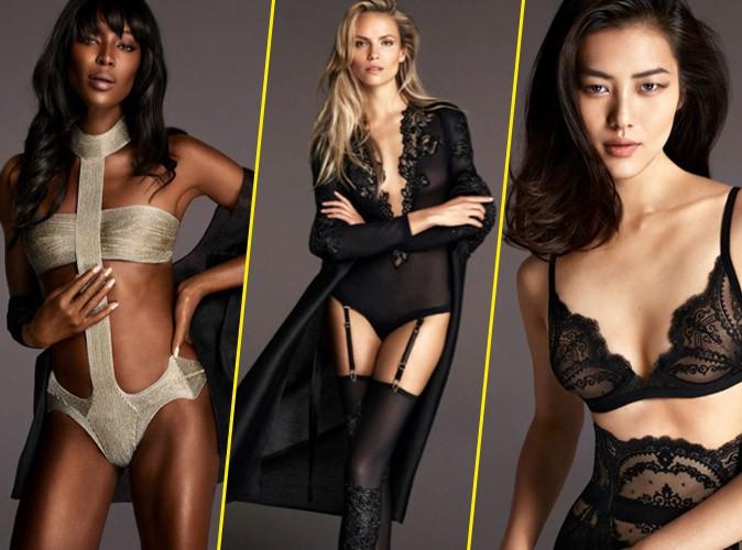 Naomi Campbell, Natasha Poly et Liu Wen posent pour les dessous La Perla !
