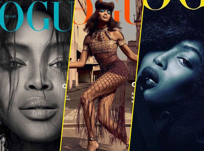 Naomi Campbell pour Vogue Brésil