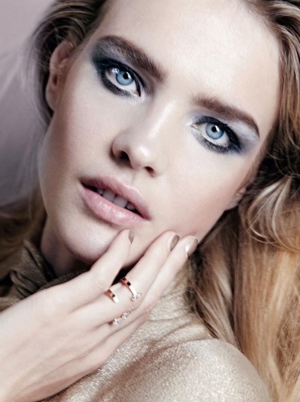 Photos: Natalia Vodianova, beauté captivante pour un magazine russe