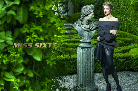 Natalia Vodianova pour Miss Sixty !