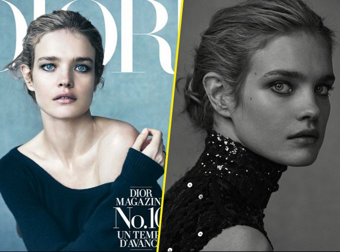 Photos : Natalia Vodianova, la beauté diaphane de chez Dior Magazine !