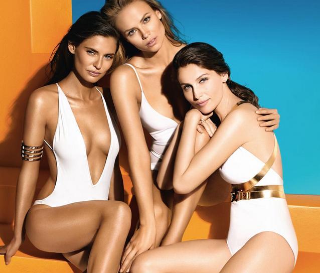 Biance Balti, Natasha Poly et Laetita Casta pour L'Oréal Paris