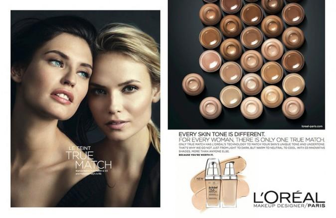 Photos : Natasha, Liya, Bianca... Toutes dans la nouvelle campagne L'Oréal Paris !