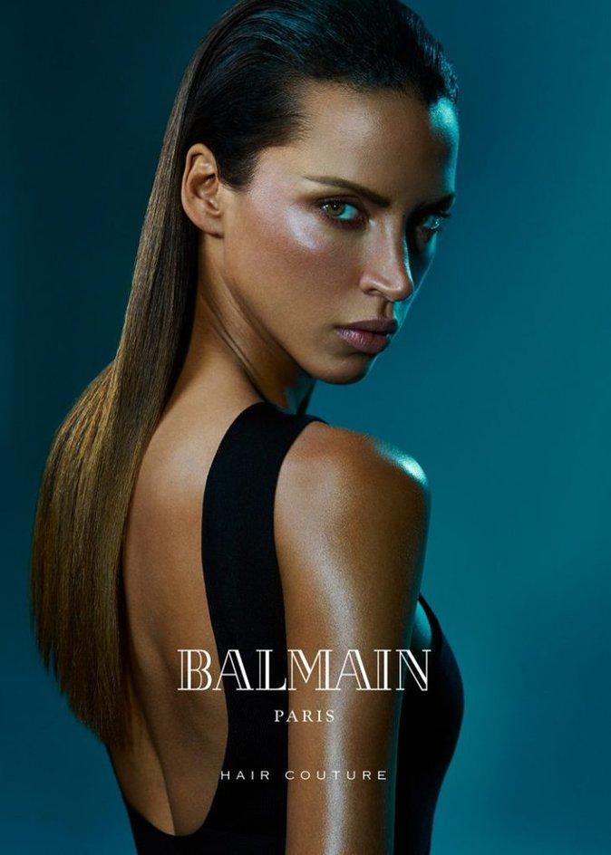 Photos : Noémie Lenoir : Sublime et hypnotisante pour la nouvelle campagne Balmain Hair Couture !