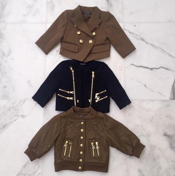 Ces nouvelles vestes offertent par la maison Balmain !