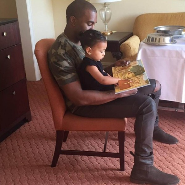 North West et Kanye West