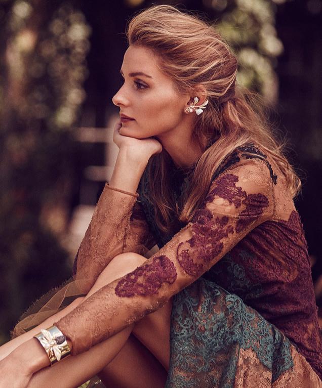 Photos : Olivia Palermo : égérie romantique pour les bijoux Baublebar !