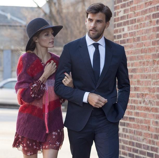 Olivia Palermo et son mari Johannes Huebl : stylistes pour la marque Tommy Hilfiger