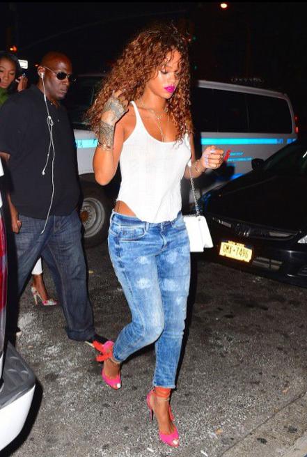 Rihanna dans les rues de New York