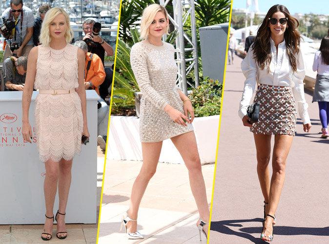 Charlize Theron, Kristen Stewart et Izabel Goulart à Cannes