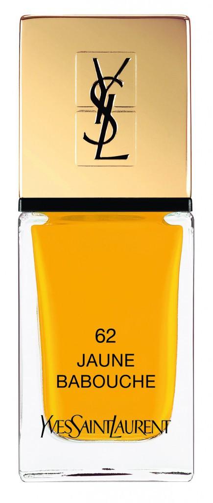 Le coup de ♥ : Jaune babouche, Yves Saint Laurent 22,50 €