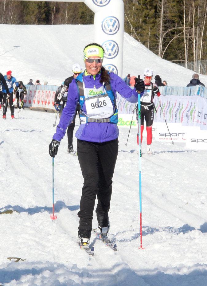 Pippa Middleton sur des skis