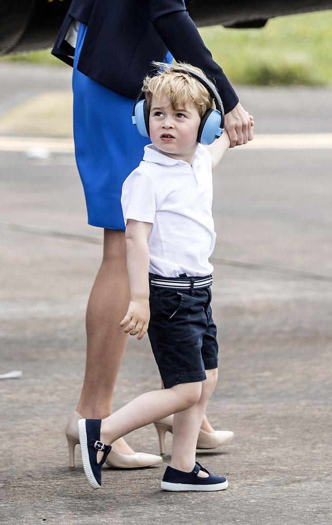 Photos : Pourquoi le Prince George ne porte-t-il que des shorts ?
