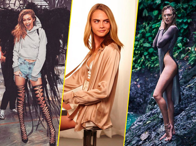 Gigi, Cara ou Candice ? Quel mannequin a gagné le plus de followers en 2016 ?