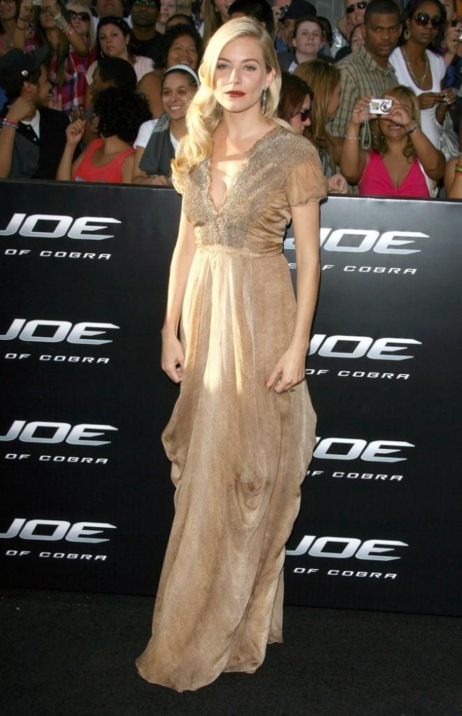 Sienna Miller : actrice, mannequin et designer !