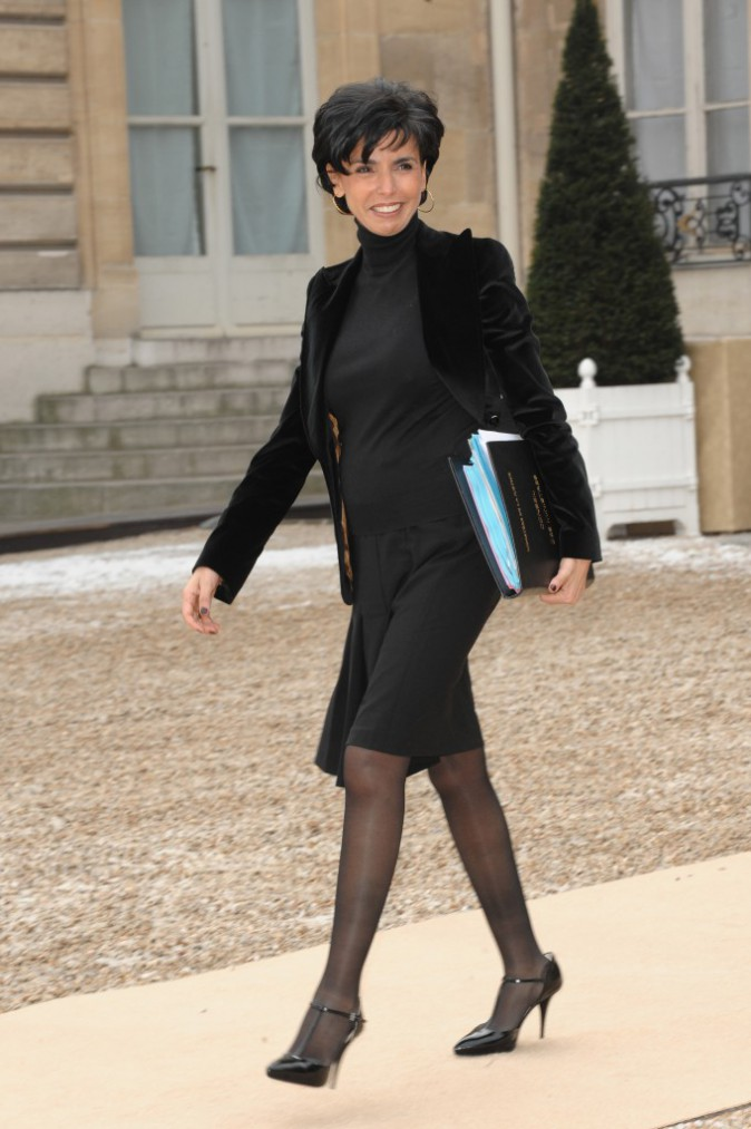 07/01/2009 : Rachida Dati quitte l'Elysée