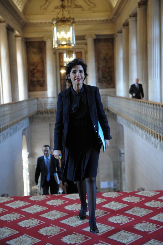 08/01/2009 : Rachida Dati au Sénat, Paris