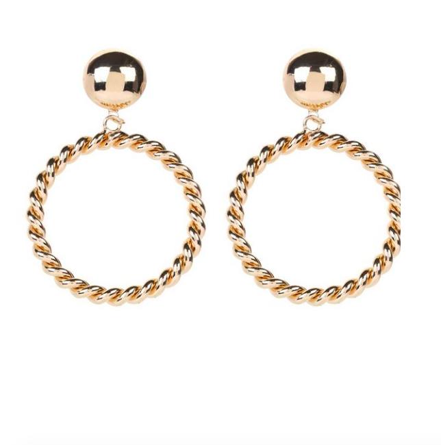 Boucles d'oreilles cerceau – NEW LOOK – 7,99€