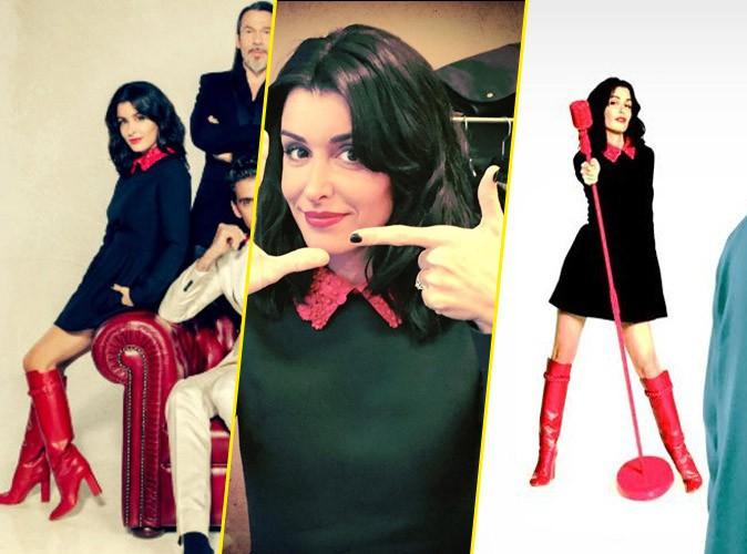 Jenifer en look baby dolls de chez Valentino : de la robe aux bottes !