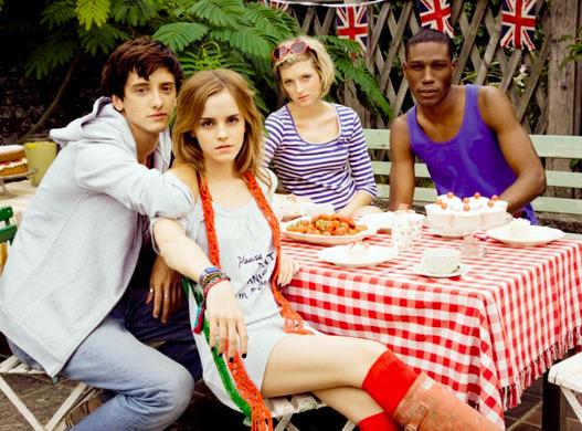 Emma Watson pour la marque People Tree